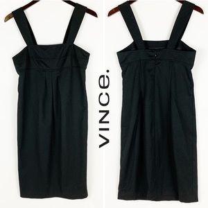 VINCE | WOOL BLEND STRAP DRESS